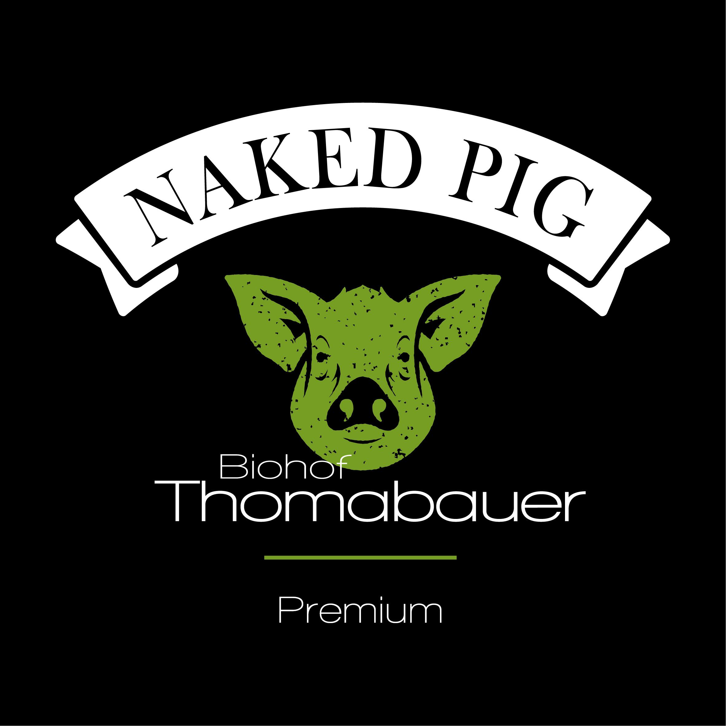 NAKED PIG | Fleischqualität vom Biohof Thomabauer in Prambachkirchen | Beim Biohof Thomabauer im Bezirk Grieskirchen erhalten Sie unsere Marke Naked Pig als hochwertigstes Bio-Fleisch ohne künstliche Zusätze! Schnitzerl,Ribs, usw!